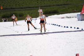 Peterson And Oeberg Win Summer Ski In Yakeshi, China